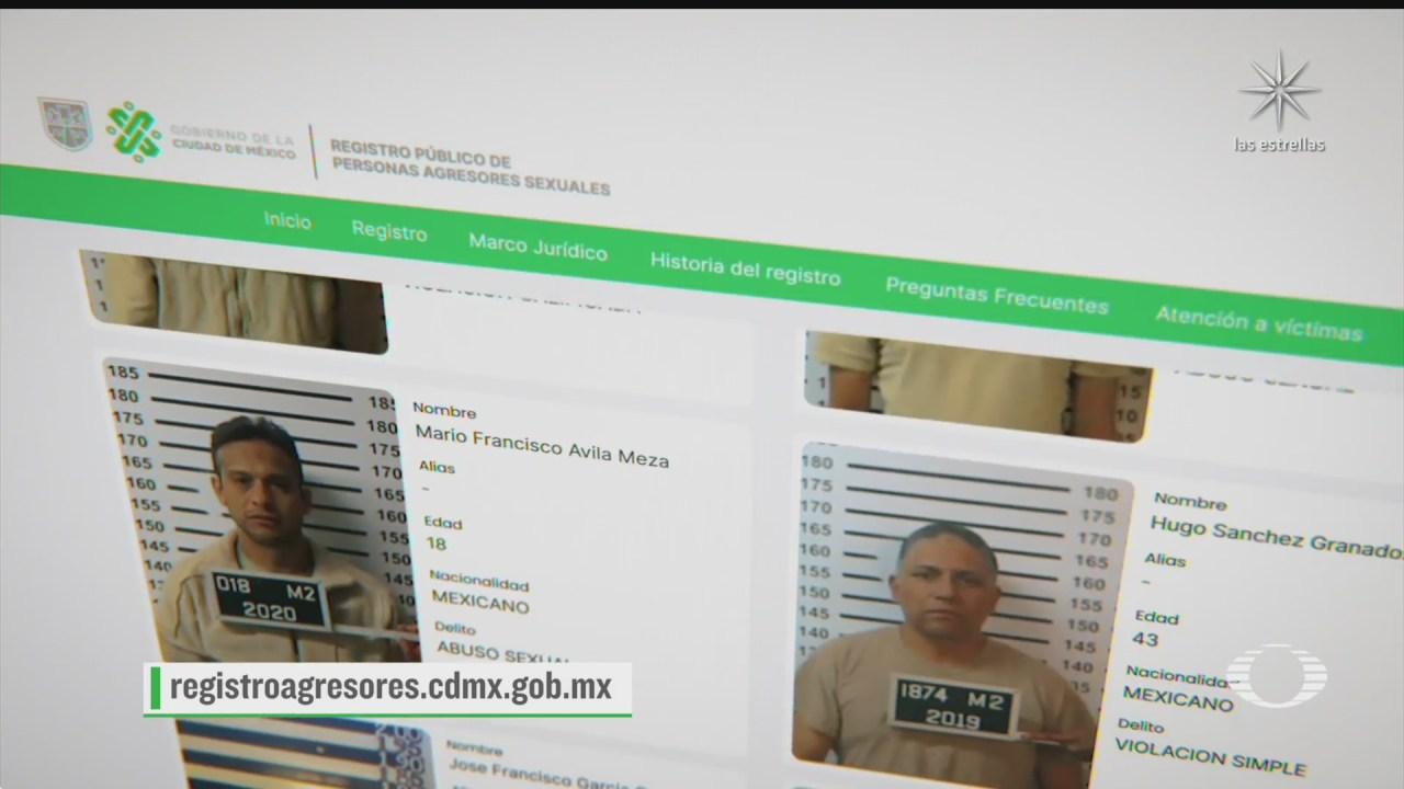 gobierno de la cdmx habilita registro de personas agresoras sexuales