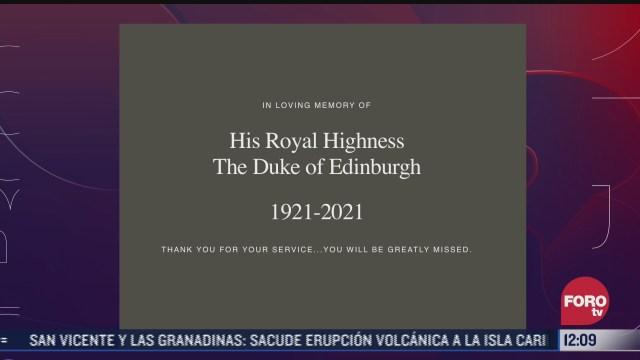 harry y meghan envian mensaje por muerte del principe felipe