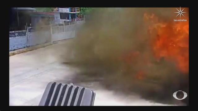 incendio en complejo petroquimico pajaritos de pemex