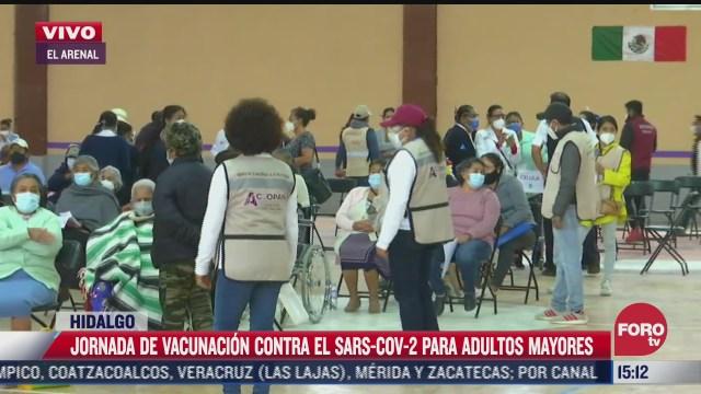 jornada de vacunacion covid en hidalgo avanza con 146 mil inoculados