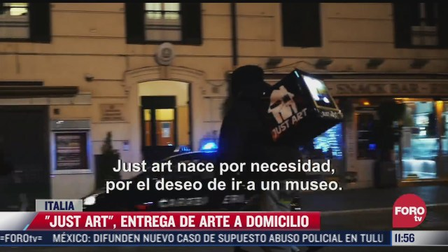 just art entrega del arte a domicilio