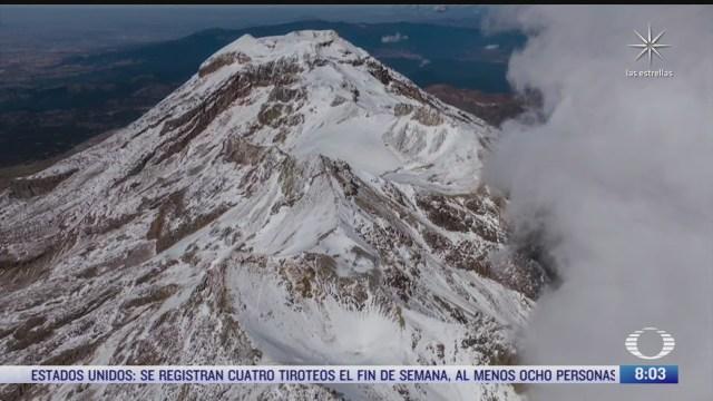 la desaparicion de los glaciares mexicanos