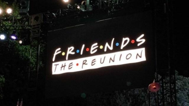 La reunión de 'Friends' ya está rodada
