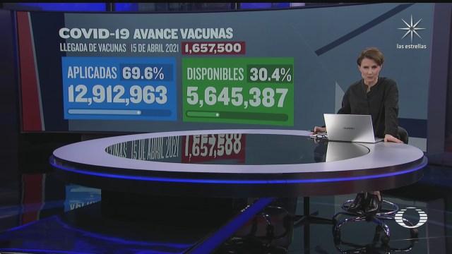 llegan mas vacunas a mexico