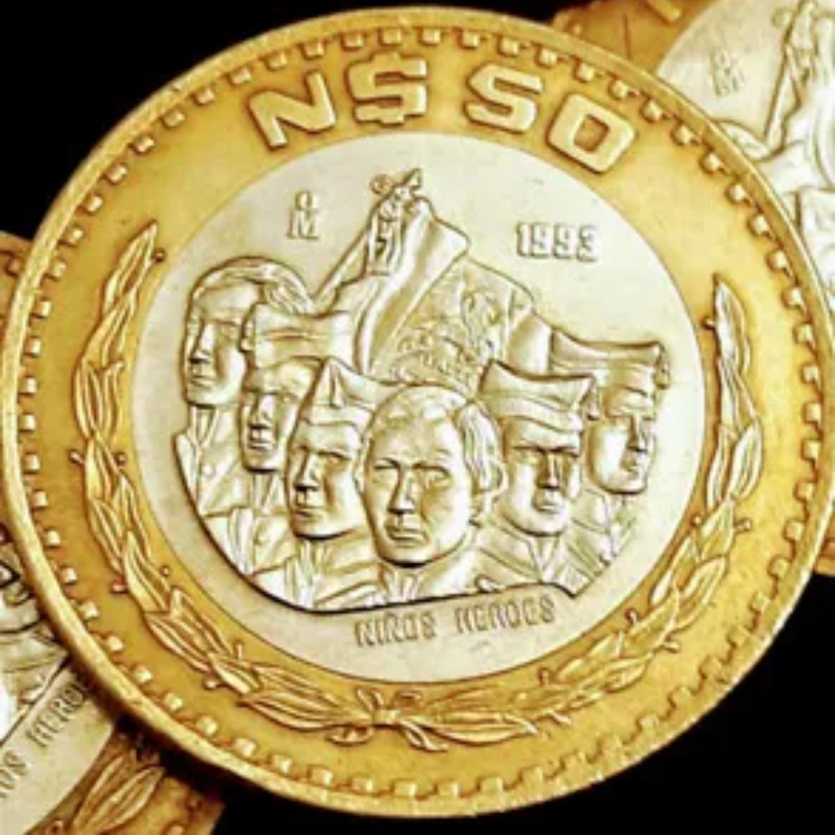 Moneda de 50 pesos saldrá de circulación y podría valer miles en internet