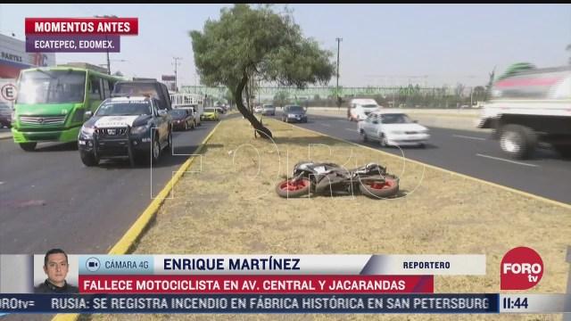 muere motociclista en ecatepec estado de mexico responsable se dio a la fuga