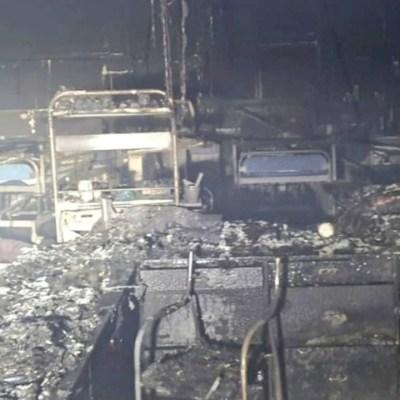 Mueren 13 pacientes con COVID-19 durante incendio en hospital de Bombay, India