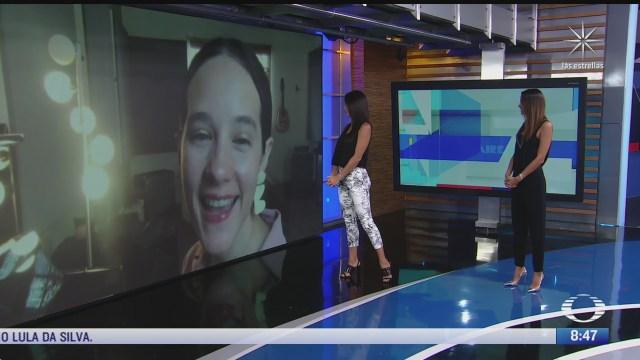 paola rojas entrevista a ximena sarinana sobre el tema a no llorar