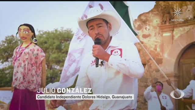 pese a amenazas candidato independiente de guanajuato sigue en pie
