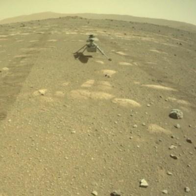 NASA reprograma vuelo en Marte del helicóptero Ingenuity