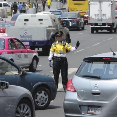 Una policía de transito en la CDMX (Cuartoscuro, archivo)