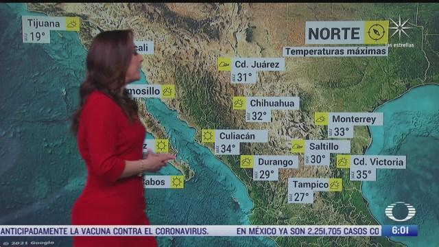 preven lluvias en coahuila nuevo leon y tamaulipas