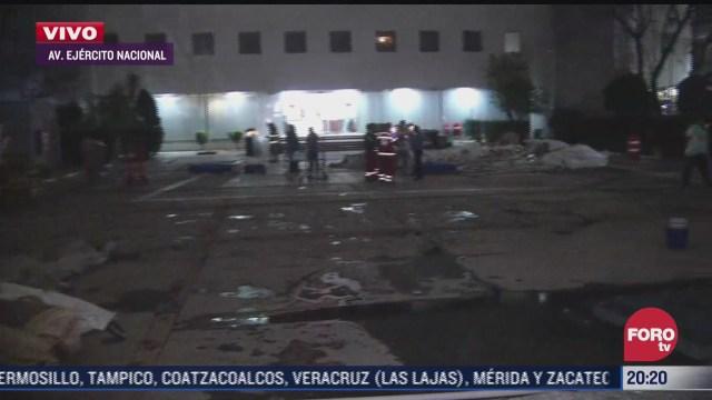 rafagas de viento destruyen carpas de triage covid 19 en la cruz roja