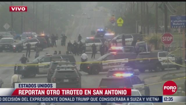 reportan otro tiroteo en san antonio estados unidos