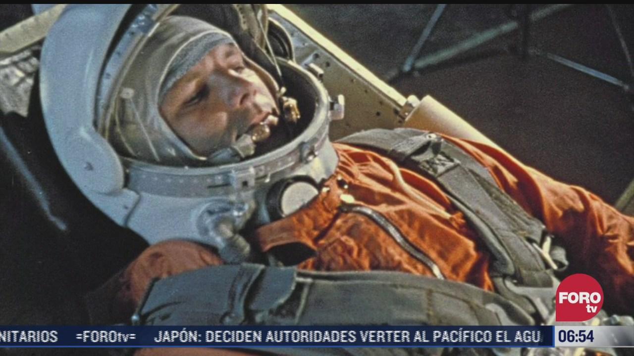 se cumplen 60 anos del vuelo de gagarin al espacio