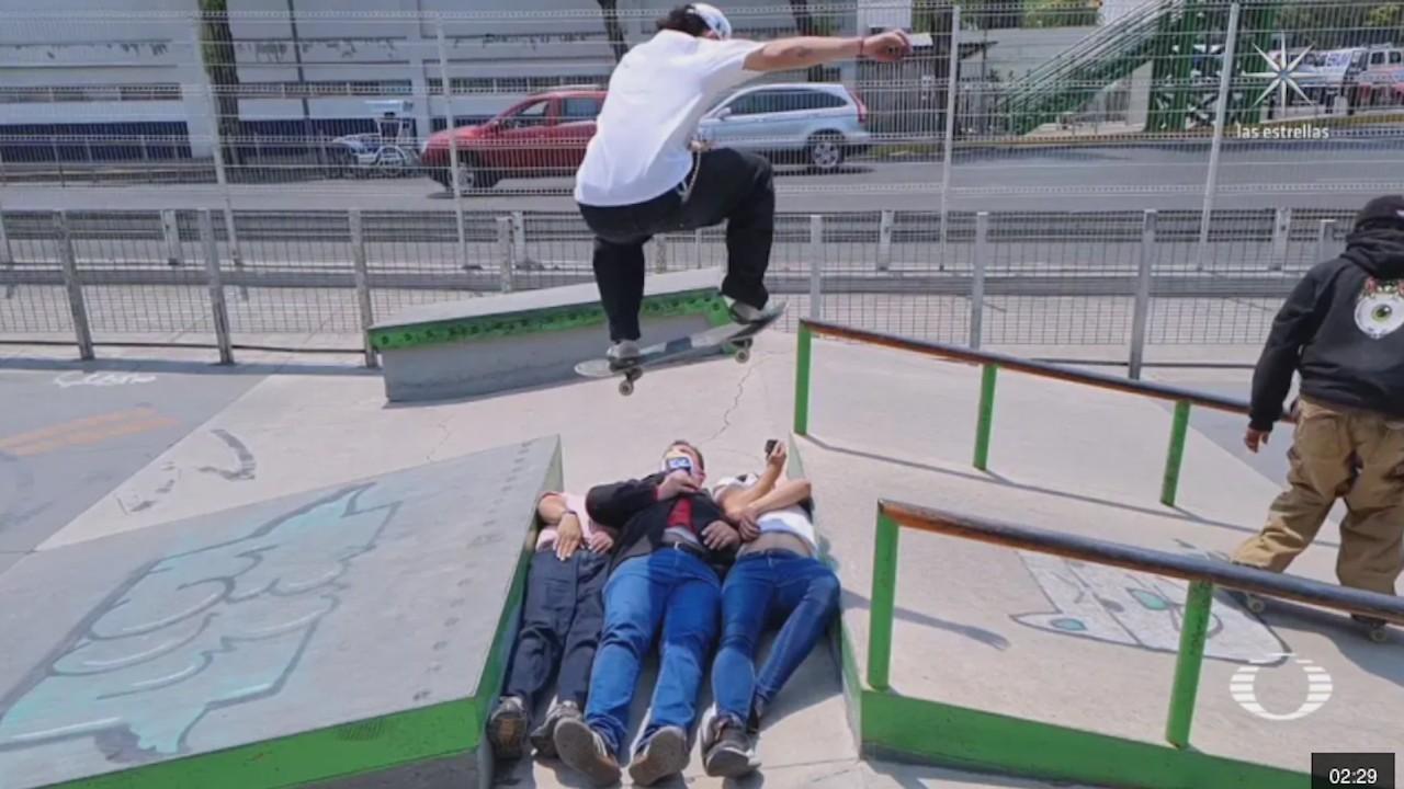 Selección mexicana de skatebording busca clasificar a los Juegos de Tokio