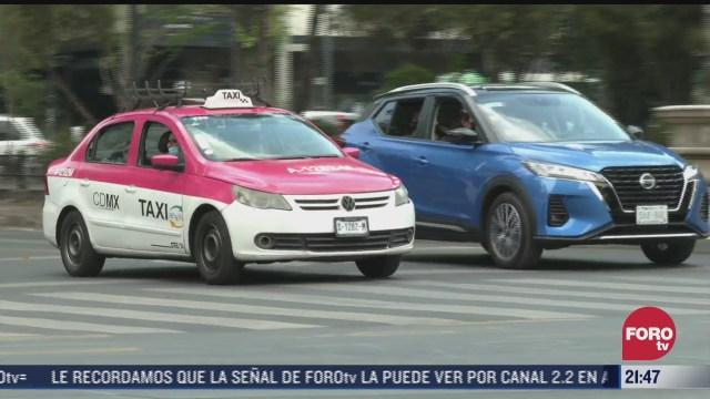taxistas de la cdmx podran tramitar licencia digital