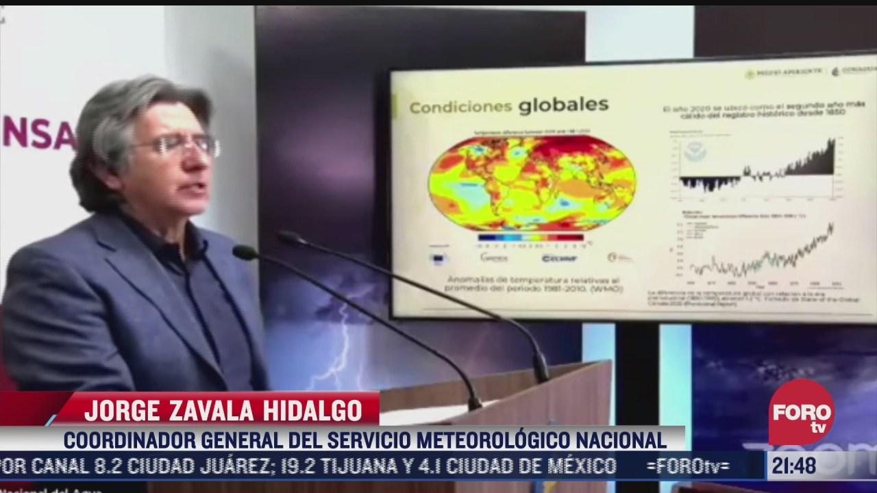 temperatura registra un aumento mayor en comparacion con todo el mundo