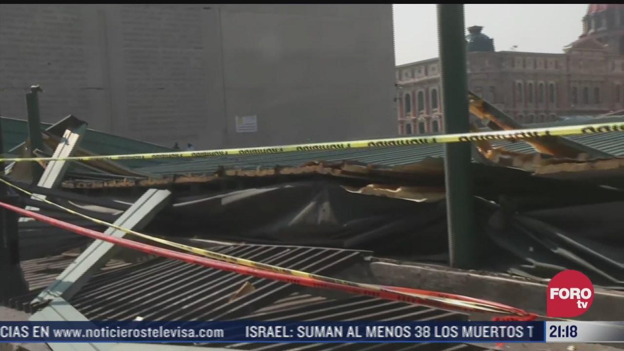 templo mayor cerrara tras danos provocados tras granizada