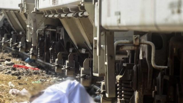 Muere al ser arrollado por el tren en la localidad Potrero Viejo, Veracruz