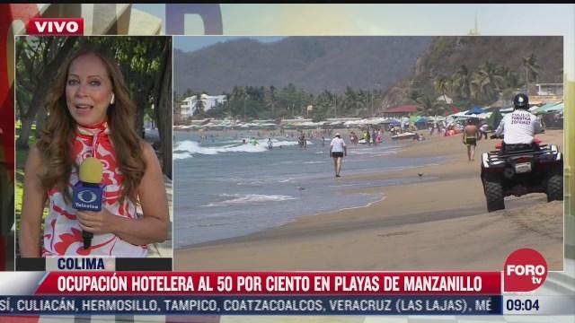 turistas disfrutan de las playas en ultimas horas de la semana de pascua