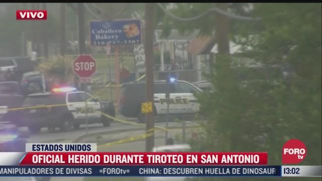 un policia herido por otro tiroteo en san antonio estados unidos