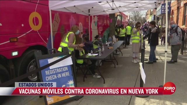 vacunas moviles contra coronavirus en nueva york