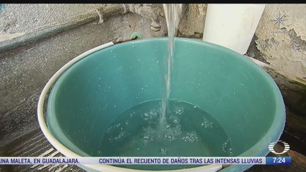 11 y 12 de junio habra corte parcial en abasto de agua en el valle de mexico