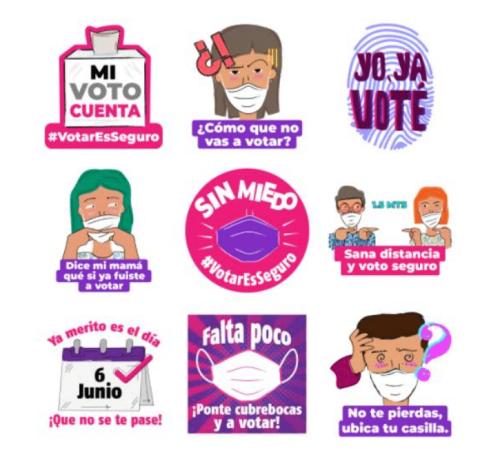 Elecciones 2021: ¿Cómo bajar stickers del INE para WhatsApp?
