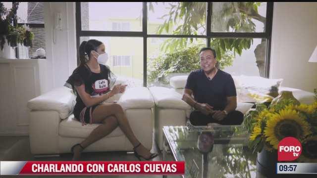 Charlando con Carlos Cuevas del 13 de mayo 2021