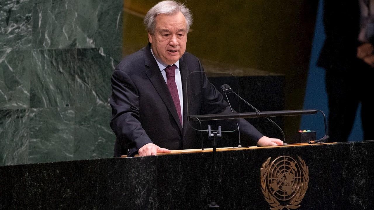 António Guterres, secretario general de la ONU, busca reelección con poderosos mensaje