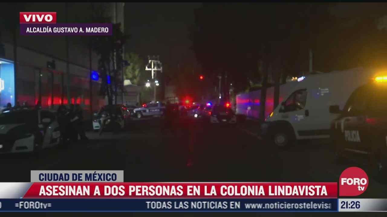 asesinan a dos personas en un hospital de la colonia lindavista