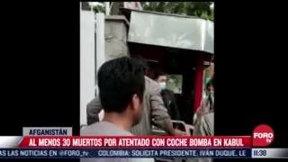 atentado con coche bomba en afganistan en escuela de ninas