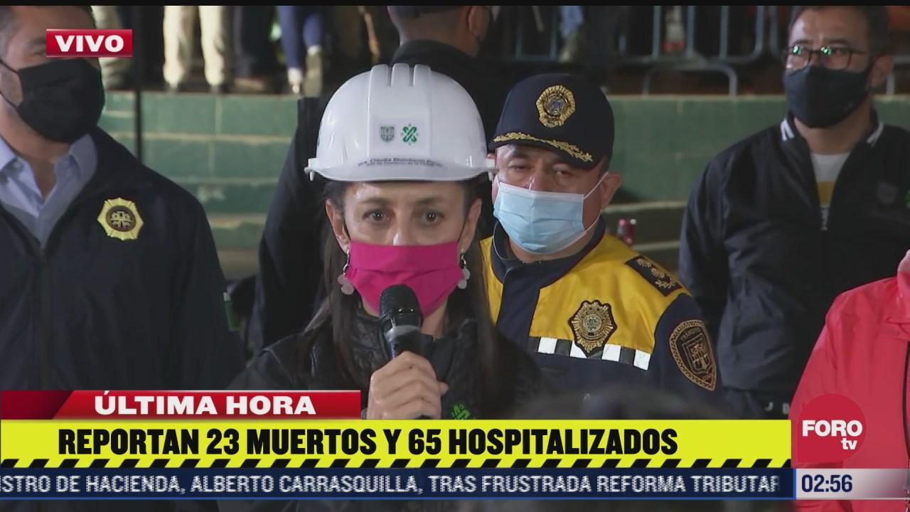 aumenta a 23 el numero de fallecidos tras accidente en metro olivos de la linea