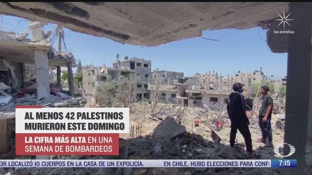 continua la escalada de violencia entre israel y palestinos