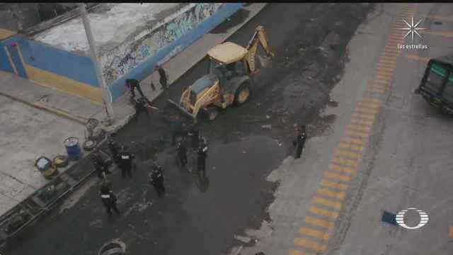 continuan los trabajos de limpieza en ixtapaluca tras fuertes lluvias