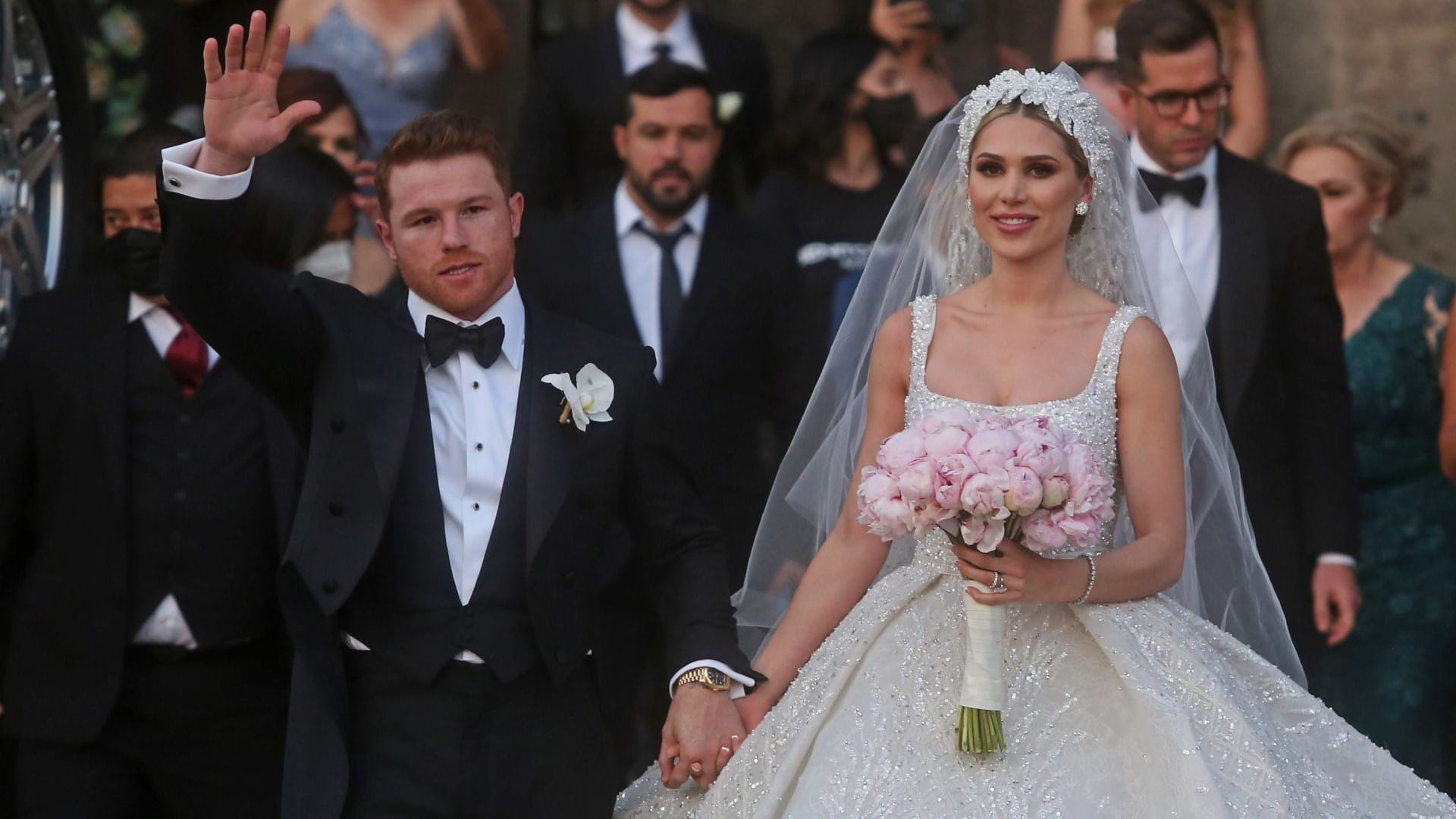 Fotos: El 'Canelo' Álvarez se casa con Fernanda Gómez en Guadalajara
