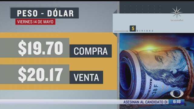 El dólar se vendió en $20.17 en la CDMX del 14 mayo 2021