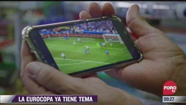 espectaculosenexpreso la eurocopa ya tiene tema musical