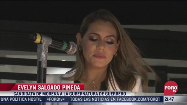 evelyn salgado pineda se registra como candidata a la gubernatura de guerrero