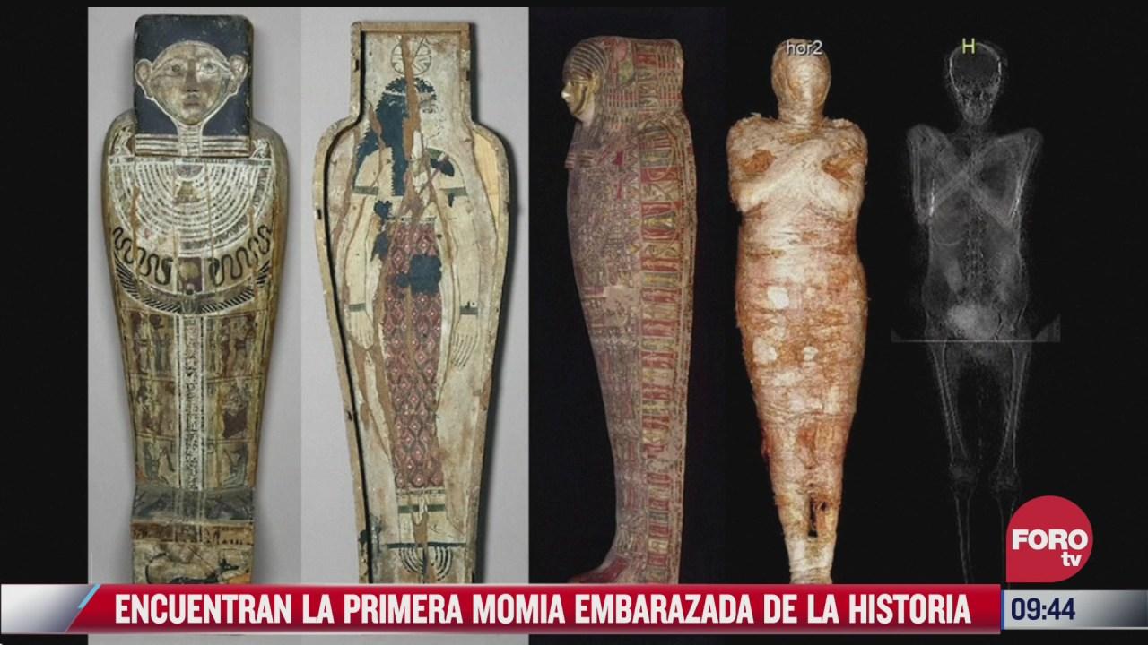 extra extra encuentran la primera momia embarazada de la historia