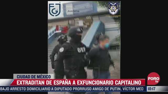 extraditan desde espana e exfuncionario edgar n