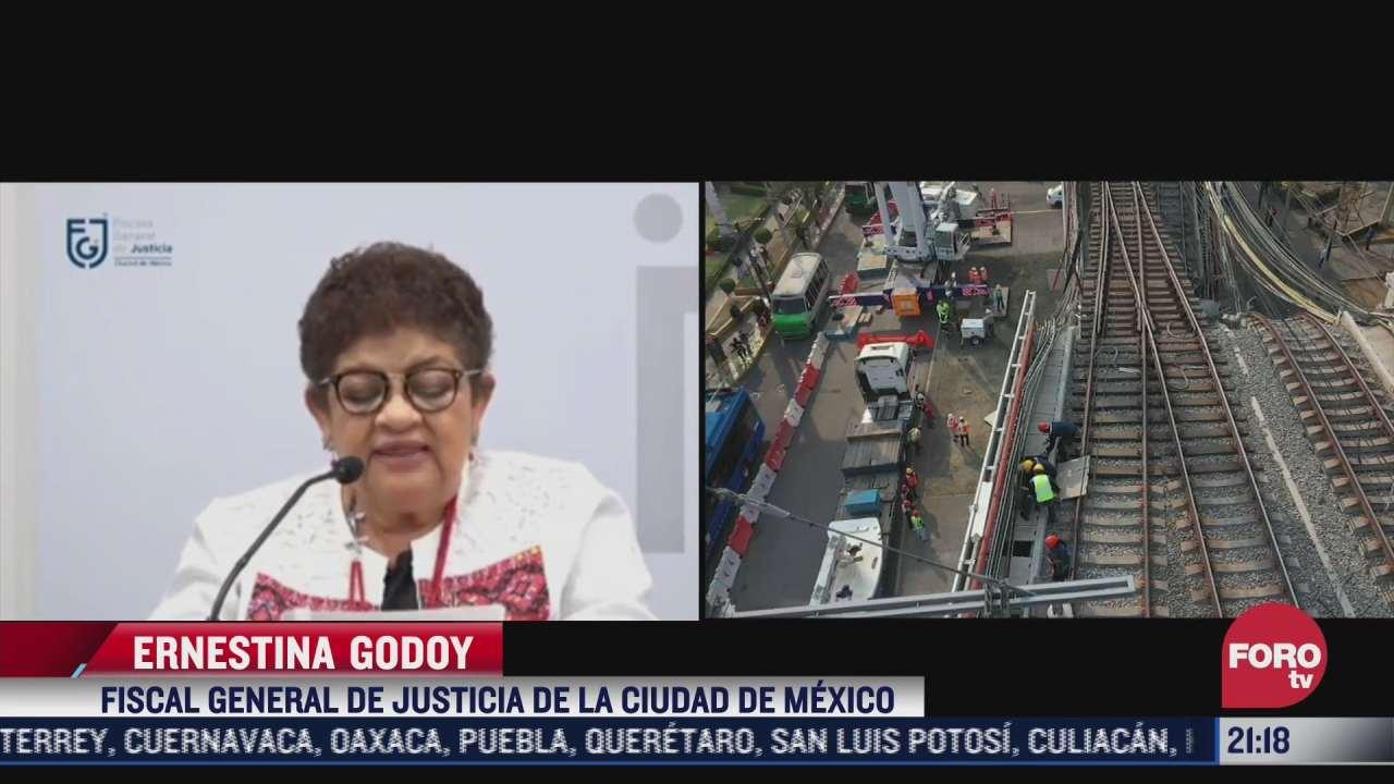 fgjcdmx promete investigacion solida tras accidente del metro