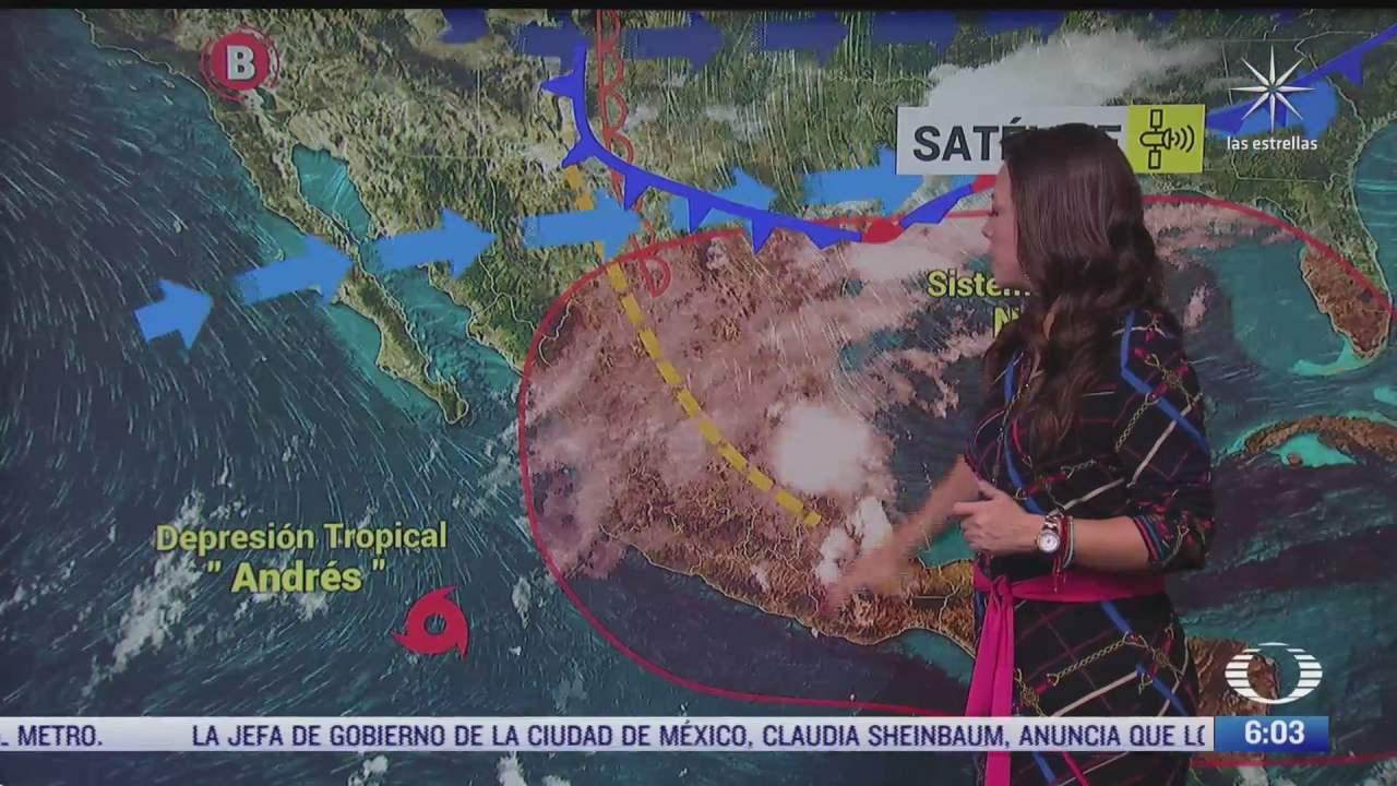 frente frio 56 provocara lluvias en el norte de mexico