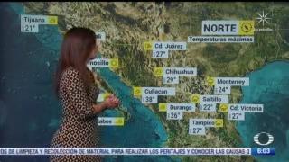 frente frio 56 provocara lluvias fuertes en el norte y noreste de mexico