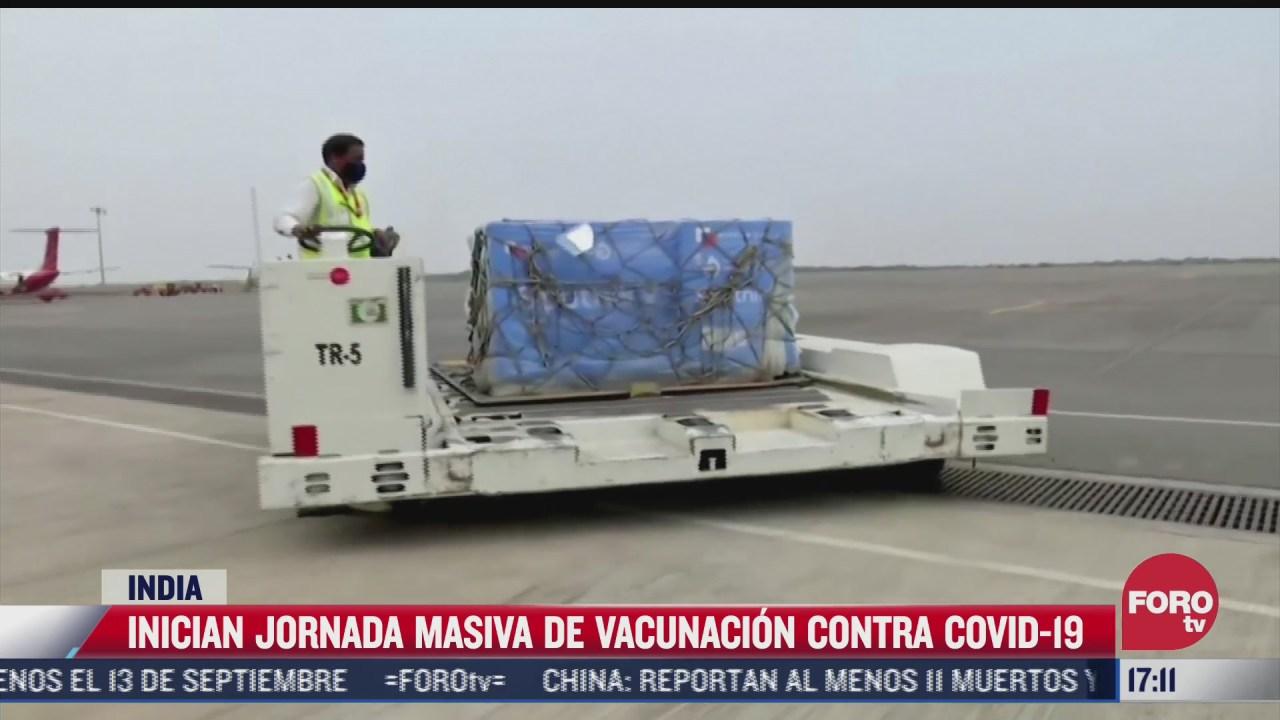 india inicia jornada masiva de vacunacion contra covid