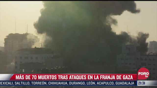 israel y hamas intensifican sus ataques en la franja de gaza