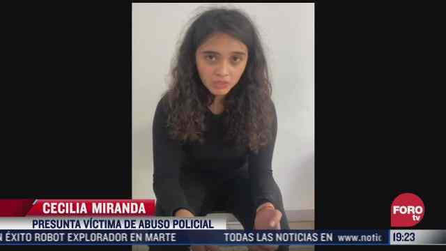 joven denuncia abuso policial en cdmx