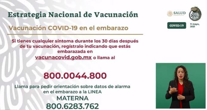 La Secretaría de Salud pone a disposición dos números telefónicos