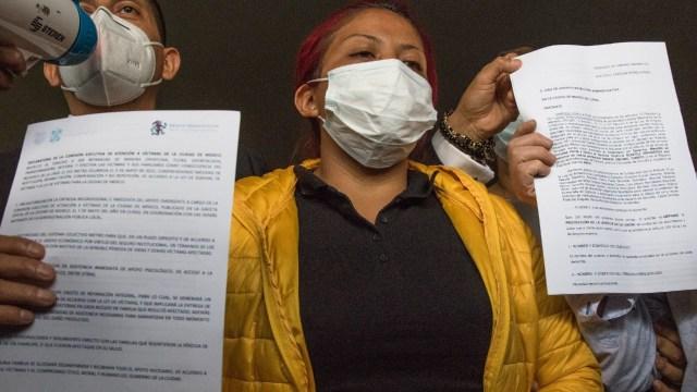 Madre de Brandon, el niño fallecido en la L12 del Metro, denuncia a funcionarios y exfuncionarios de la CDMX